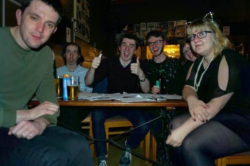 Bristol 2016: Callum makes an interesting face.