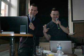 Bristol 2016: The dynamic presenting duo of Jeff and Mark!