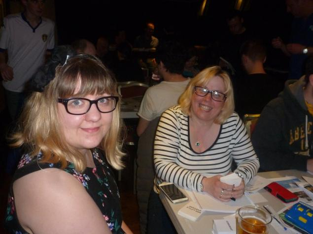 Leeds 2016: Jen and Tracey are sisterrrrs doing it for themselves.