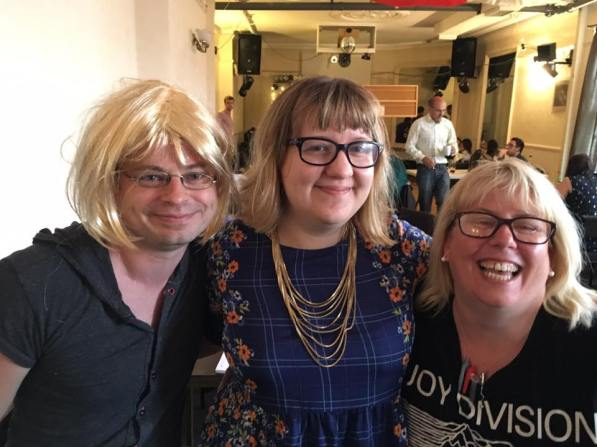 MK 2016: Jen, Tracey and Mark - but which is which?