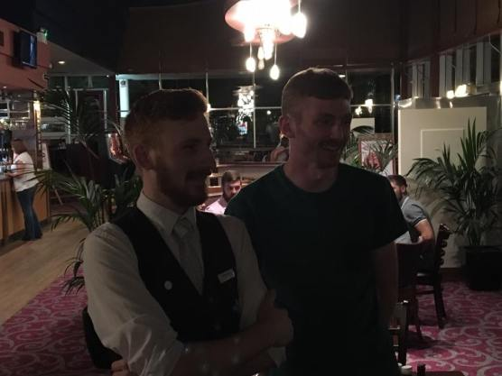 MK 2016: Ryan Taylor meets his doppelganger, who works at Milton Keynes Wetherspoons.