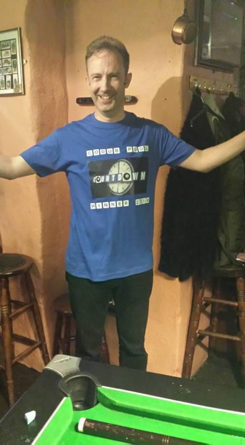 Dublin 2016: First-timer Matt Tassier winning the pool competition!