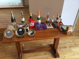Huddersfield 2016: an array of prizes on offer.