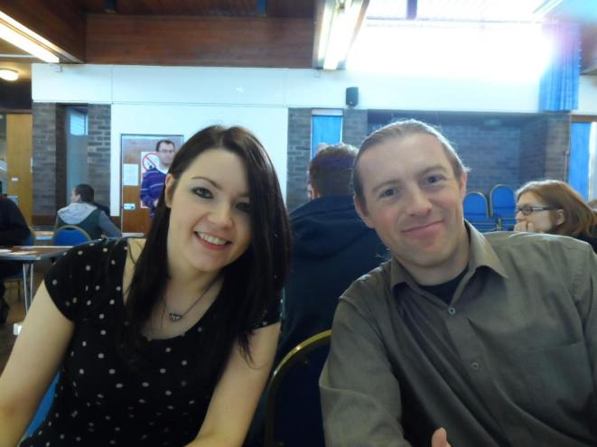 Lincoln 2013: Dave and Michelle have something to smile about - being at a Co event!