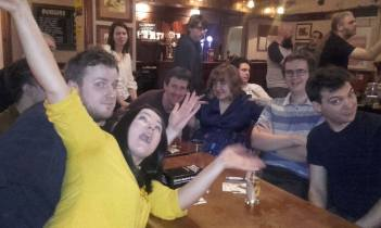 Lincoln 2017: The final of the unofficial COLIN quiz. Tensions are not that high.