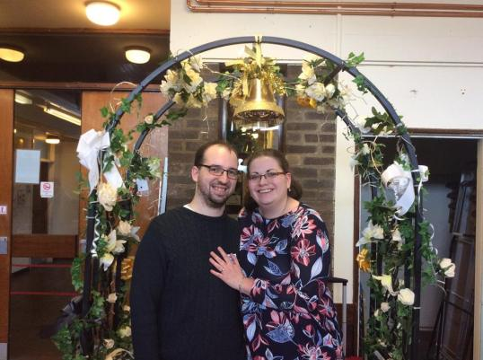 Lincoln Hangover 2017: Newly-engaged Countdown couple Adam and Lucy celebrate their impending nuptials!