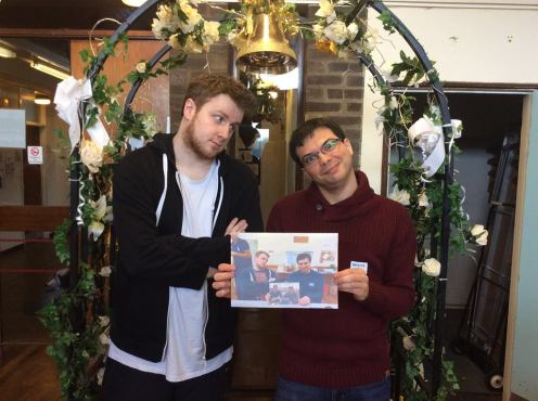 Lincoln Hangover 2017: Notly-engaged Countdown couple Mark and Graeme celebrate their love. (We're still waiting for the proposal. Maybe next year?)