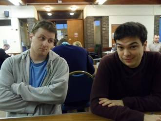 Lincoln 2014: Mark and Graeme's bromance, part 1.