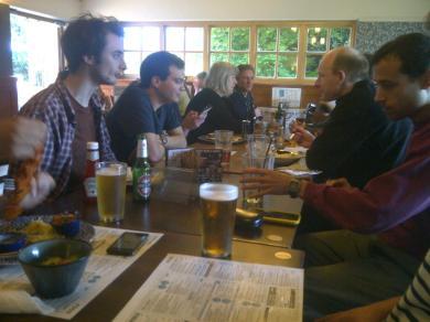 King's Lynn 2016: Post-event pub.