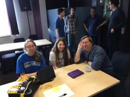 St Albans 2016: Jessica, Natasha and Mauro Pratesi show that FOCAL's fun for all the family.