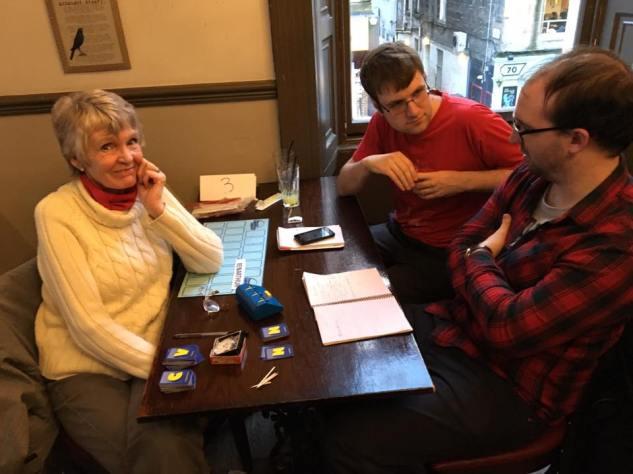 Glasgow 2016: Veteran and head of the Edinburgh Countdown Club, Nita Marr, looks apprehensive.