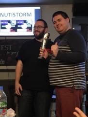 Glasgow Hangover 2016 winner: JAMES ROBINSON
