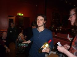 Manchester 2017: Runner-up Rob with his prizes.