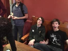 Manchester 2017: It wouldn't be a Co-event if Callum weren't making a stupid face.