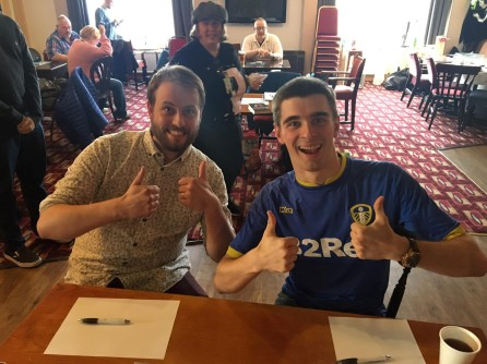 Blackpool 2019 has the thumbs-up from finalists Tom and Callum.