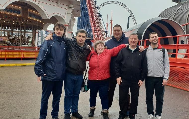 Blackpool 2019: Group fun at the Pleasure Beach