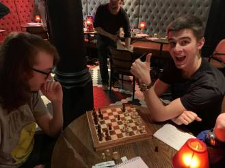 Manchester 2020: You've heard of chess boxing. Meet chess countdown.