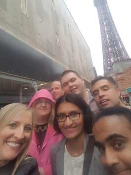 Blackpool 2021: Countdowners at the Blackpool tower!
