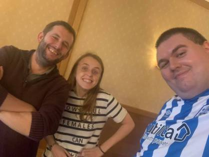 Blackpool 2021: Jeff, Rachel, and Robbo are having a great time