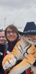 Blackpool 2021: Andy is jealous of Tom's stylish tiger