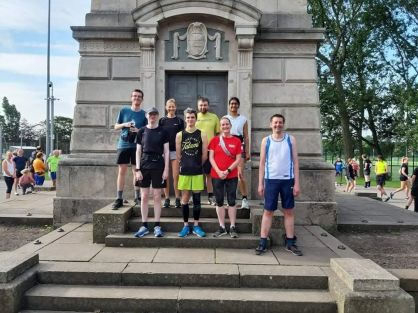 Blackpool 2021: Countdowners go parkrunning!
